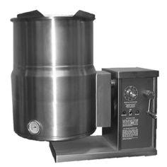 Blodgett KTG-12E 12 Gallon Countertop Electric Steam Jacketed Kettle with Gear Box Tilt Mechanism - 12 kW