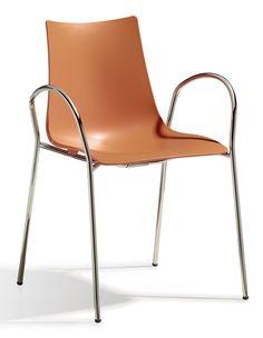 Zebra Tech Braccio stoel - Scab - Oranje
