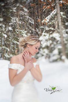 Winter Wedding by Wren Photography