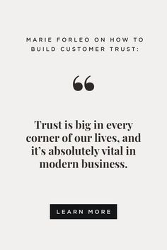 "Can you get customers to trust and love you — even with a ""no refunds"" policy? Yes, if you take two important steps. Learn how to build a company that customers trust, and why customer's trust is vital for your business success. #customertrust #refunds #customerservice"