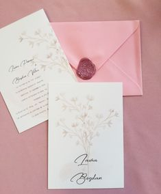 Invitatie de nunta Floare de bumbac | weddpaper Cotton Style, Place Cards, Place Card Holders, Pop, Popular, Pop Music