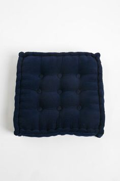 UrbanOutfitters.com > Tufted Corduroy Floor Pillow. Cushions for top of storage bench/seating in LR