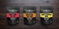 Savage Jerky Co. — The Dieline - Package Design Resource