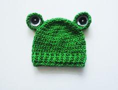 Cappello rana di CudaWianki su DaWanda.com