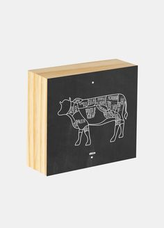 Box ilustrado - Churrasco