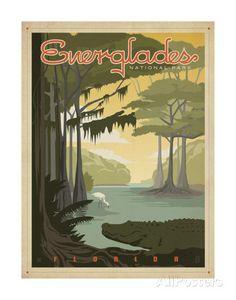 Florida – Everglades Kunstdrucke von Anderson Design Group bei AllPosters.de