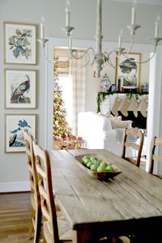 "Sharing some of my fave photos of Christmas past today . . . I think this might be my fave holiday image ever from my own ""work"" or home; And I loved this cozy Christmas nest in our ""new old house""…this room will always be an important part of our history. It's so interesting how …"