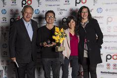 Ganadores del premio Lápiz de Acero Azul, concurso organizado por la Revista proyectodiseño www.proyectod.com. #HunterDouglas es Patrocinador Oficial y premia al mejor entre los mejores dentro del concurso.