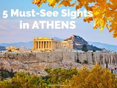 5 Must See Sights in Athens
