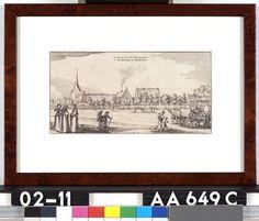 Het Logiment der H.H. Staten generael in t'Klooster St. Aechten - Onbekend - 1641  Maat: 13cm x 25cm  Materiaal: drukinkt op papier  Inventarisnummer: AA649-C