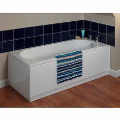 Gloss White Straight Bath Panel Pack 1800 x 800