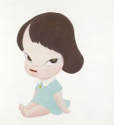 Yoshitomo Nara - Hot House Doll (In the White Room III)
