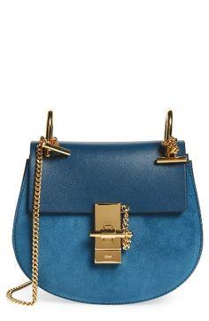 Chloé 'Mini Drew' Leather Crossbody Bag |