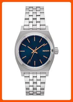 Nixon Women s  Medium Time Teller  Quartz Metal and Stainless Steel Watch 161ef0720e