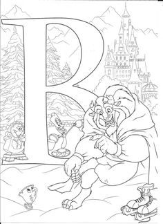 Disney abc coloring pages Coloring Letters, Alphabet Coloring Pages, Cartoon Coloring Pages, Coloring Book Pages, Coloring Pages For Kids, Kids Coloring, Disney Coloring Sheets, Disney Princess Coloring Pages, Disney Princess Colors
