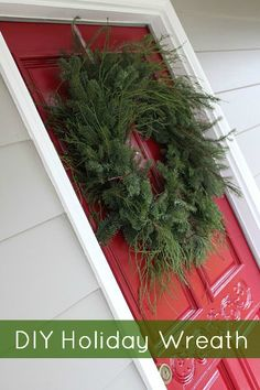 DIY Holiday Wreaths from http://FrugalLivingNW.com