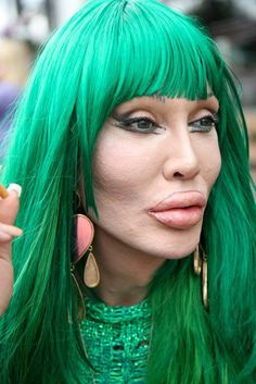 Pete Burns - singer-songwriter and lead vocalist with Dead or Alive