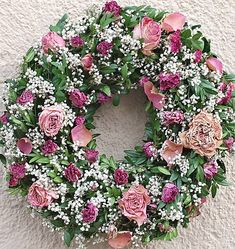 Růžičkový přírodní věnec / flowersandmore - SAShE.sk - Handmade Dekorácie