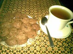 Choco Chips-Cookies for tea time
