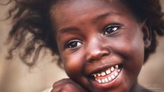 Cheerful Look From Senegal by Roberto Rivera