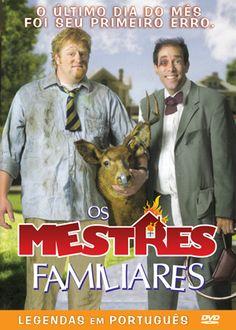 DVD Os Mestres Familiares