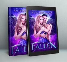 Paranormal romance Angel fantasy premade cover design Premade Book Covers, Paranormal Romance, Cover Design, Cover Art, Art Ideas, Angel, Fantasy, Fall, Prints