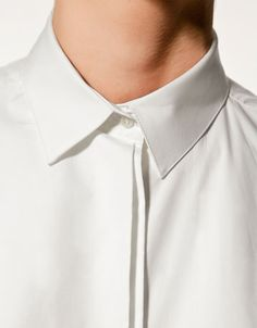 Simple, fresh, clean Boys Formal Shirts, Casual Shirts, Shirt Cuff, Pant Shirt, White Shirt Men, White Shirts, Banded Collar Shirts, African Men Fashion, Men Formal