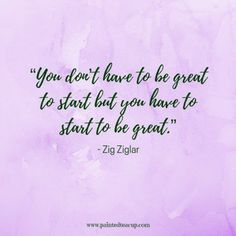 """You don't have to be great to start but you have to start to be great."" - Zig Ziglar - 11 Inspirational quotes to read on a tough day when you need some positivity and a boost of inspiration to get you through the day. Happy Quotes, Me Quotes, Motivational Quotes, Inspirational Quotes, Mental Illness Quotes, Mental Health Quotes, Great Day Quotes, Zig Ziglar Quotes, How To Become Happy"