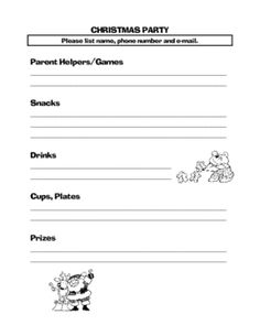 Preschool party sign up sheet | crafts | Pinterest | Signs, Party ...