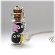 Spirited Away Totoro Soot Sprites & Stars by MagicPotionMaker