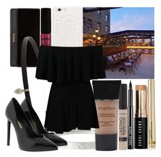 """""""You make it new"""" by my-big-brown-eyes ❤ liked on Polyvore featuring JFR, Balmain, Cartier, Bobbi Brown Cosmetics, Carbon & Hyde, NYX, Smashbox, Yves Saint Laurent and By Terry"""