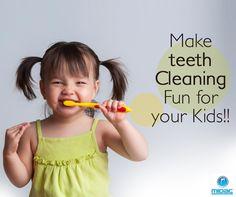 ✔ Involve them more: Let them choose their own toothbrush, and let them squeeze the paste onto the toothbrush before brushing.  ✔ Reward your child for brushing his or her teeth.  ✔ Don't leave your toddler alone - brush your teeth with your child. Kids always try to imitate what parents do. This way, you'll not only bond with your child, but also make tooth brushing more fun for them.  ✔ Go for Kid-friendly toothpastes that are fruity rather than minty.