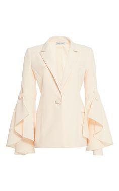 prabal-gurung-pf17/ruffle-sleeve-jacket