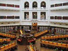 ビクトリア州立図書館 「死ぬまでに行ってみたい世界の図書館15」 トリップアドバイザー