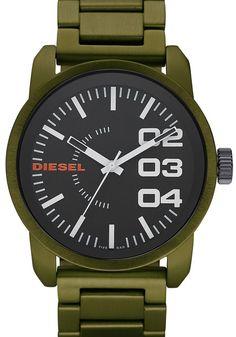 Diesel DZ1469 Franchise Green Aluminum