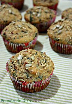 """PECADO DA GULA: Muffins Salgados """"Abaixo o Desperdício""""!"""