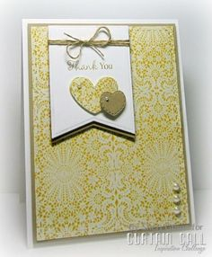 Thank You by PaperCrafty - Cards and Paper Crafts at Splitcoaststampers