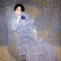 Gustav Klimt - Portrait of Marie Henneberg (1902) - Google Search