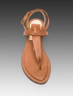 Dolce Vita Fabia Sandal in Saddle on Wanelo