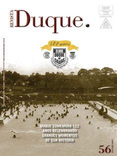 Revista Duque edição 56, 2012; 44 páginas, acabamento lombada quadrada (veículo de comunicação do Clube Duque de Caxias, Curitiba-PR)