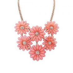 Little Daisy delicate crystal necklace