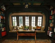 Bay Window...I imagine for a Hobbit's hovel ;) but nonetheless MAGICAL/ DREAM!