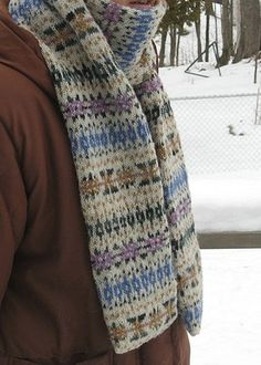 Fair Isle scarf inspired by the scarf worn by Hermione in the Half Blood Prince Movie. by Freshisle Fibers. Find the free pattern here: hermionescarf Find the matching gloves here: link Fair Isle Knitting Patterns, Fair Isle Pattern, Knitting Charts, Loom Knitting, Knit Patterns, Free Knitting, Knitting Machine, Vintage Knitting, Stitch Patterns