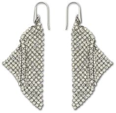 @Swarovski Holiday Party Style: Fit Pierced Earrings #Moments2Give