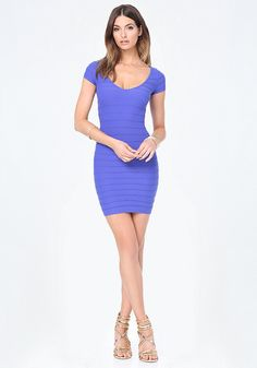 Oval neckline dress features ottoman texture and a super sleek physique! Zipper at the back. Add to cart now.