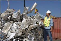 How Technology Has Improved The Scrap Metal Industry Transactions? Aluminum Recycling, Scrap Recycling, Companies In Dubai, Industrial, Technology, Metal, Uk News, Group, British