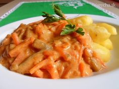 sk - recepty a videá o varení Cauliflower Vegetable, Thai Red Curry, Risotto, Macaroni And Cheese, Fries, Recipies, Food And Drink, Healthy Recipes, Healthy Food