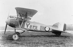 "Albatros D.III single-seat fighter biplane. Captured aircraft with British insignia. Serial number D.2096/16. Named aircraft ""Vera""."