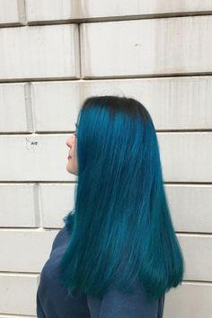 💙🌊⚓️ @lazina.haircolor used Aquamarine ✨ #AFaquamarine Arctic Fox Aquamarine, Aquamarine Blue, Dyed Hair Blue, Hair Color Blue, Arctic Fox Hair Color, Bright Hair, Deep Teal, Dark Shades, Aqua Marine