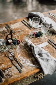 Industrial and Intimate Wedding Inspiration for Two Grooms #samesexwedding #loveislove #industrialwedding